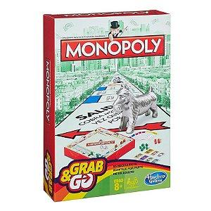 Jogo Monopoly (Banco Imobiliário) Grab & Go