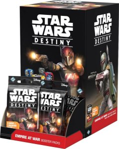 Jogo Star Wars Destiny Pacotes de Expansão - Box Império em Guerra c/36