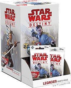Jogo Star Wars Destiny Pacotes de Expansão - Box Legados c/36