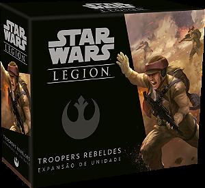 Jogo Star Wars Legion Expansão Troopers Rebeldes