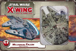 Jogo Star Wars X-Wing Expansão Millennium Falcon