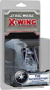 Jogo Star Wars X-Wing Expansão TIE Interceptor