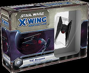 Jogo Star Wars X-Wing Expansão TIE Silencer