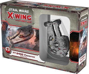 Jogo Star Wars X-Wing Expansão YT-2400 Freighter