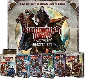 Jogo Summoner Wars Master Set (+ 9 Expansões)