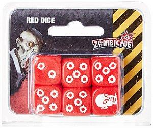 Jogo Zombicide - Dados Zombicide Vermelho