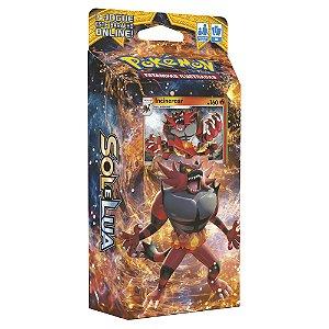 Pokémon Deck Sol E Lua - Rugido Ardente Incineroar