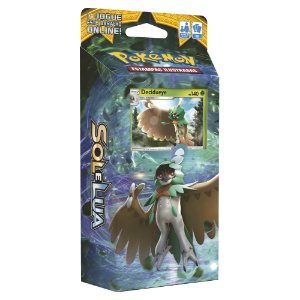 Pokémon Deck Sol E Lua - Sombra Florestal Deciduey