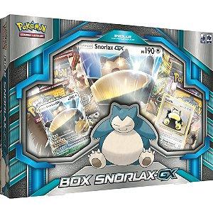 Pokémon TCG Box Snorlax-GX