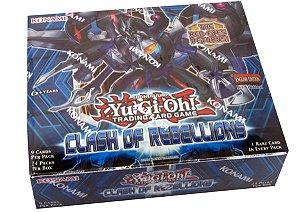Yu-Gi-Oh! Booster Box Conflito De Rebeliões