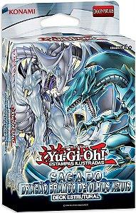 Yu-Gi-Oh! Deck Estrutural Saga do Dragão Branco de Olhos Azuis