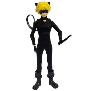 Miraculous As Aventuras de Ladybug - Bonecos Fashion 26cm Cat Noir
