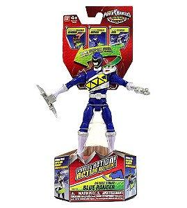 Power Rangers Dino Charge - Figuras de Ação Ranger Azul