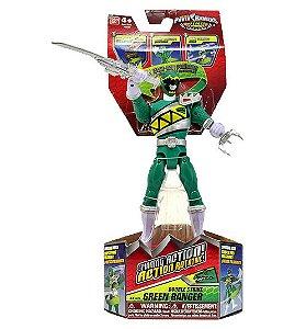 Power Rangers Dino Charge - Figuras de Ação Ranger Verde