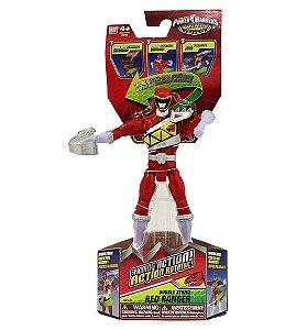 Power Rangers Dino Charge - Figuras de Ação Ranger Vermelho