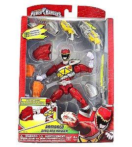 Power Rangers Dino Charge - Ranger Vermelho com Armadura de Luxo