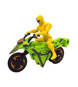 Power Rangers Ninja Steel - Veículo Morfador Ranger Amarelo