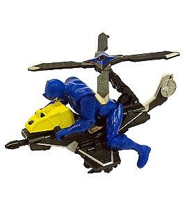 Power Rangers Ninja Steel - Veículo Morfador Ranger Azul