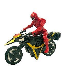 Power Rangers Ninja Steel - Veículo Morfador Ranger Vermelho
