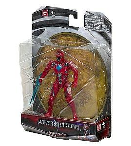 Power Rangers O Filme - Boneco Ranger Vermelho
