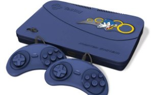 Console Master System Evolution Blue Com 132 Jogos Na Memória