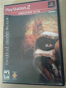 Game Para PS2 - Twisted Metal Black NTSC-US