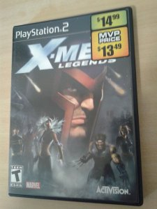 Game Para PS2 - X-men Legends NTSC-US
