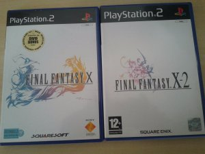 Game Para PS2 - Final Fantasy (2 Jogos) PALM/EU