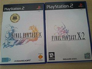 Game Para PS2 - Final Fantasy (2 Jogos) PALM/EU