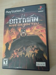 Game Para PS2 - Batman Rise Of Sin Tzu NTSC/US