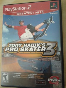 Game Para PS2 - Tony Hawk's Pro Skater 3 NTSC/US
