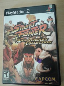 Game Para PS2 - Street Fighter Anniversary NTSC/US