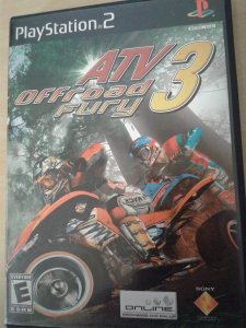 Game Para PS2 - Atv Off Road Fury 3 NTSC/US
