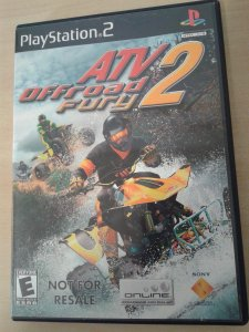 Game Para PS2 - Atv Off Road Fury 2 NTSC/US