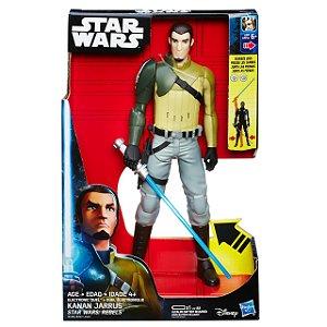 Boneco Eletrônico Star Wars Rebels Kanan Jarrus