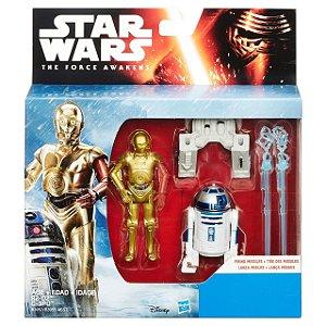 Boneco Star Wars The Force Awakens - R2-D2 e C-3PO
