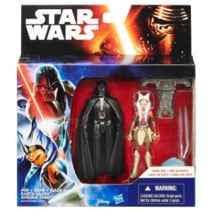 Boneco Star Wars The Force Awakens - Darth Vader e Ahsoka Tan