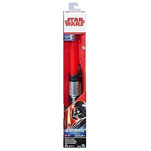 Hasbro Star Wars Sabre De Luz Eletrônico Episódio VIII - Darth Vader
