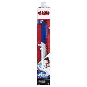 Hasbro Star Wars Sabre De Luz Eletrônico Episódio VIII - Rey