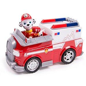 Patrulha Canina - Boneco com Veículo Rescue Marshall