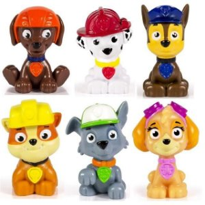 Patrulha Canina - Pack Com 6 Figuras