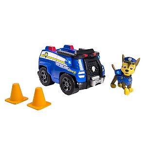 Patrulha Canina - Boneco com Veículo Chase's Cruiser
