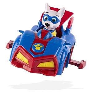 Patrulha Canina - Boneco com Veículo Apollo's Pup Mobile