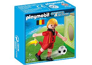 Playmobil 4706 - Jogador de Futebol - Belgica