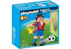 Playmobil 4730 - Jogador de Futebol - Espanha