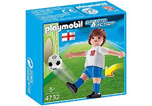 Playmobil 4732 - Jogador de Futebol - Inglaterra
