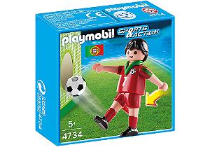 Playmobil 4734 - Jogador de Futebol - Portugal