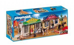 Playmobil 4398 - Faroeste Maleta Western City