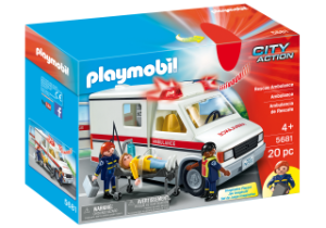 Playmobil 5681 -  Ambulância