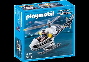 Playmobil 5916 - Helicóptero da Polícia